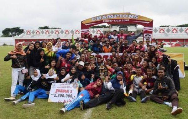 SMPN 1 Kedu Juara 1 MGMP Cup 2019